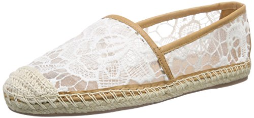 Buffalo London 125508 Renda Vegetal - Alpargatas Mujer Blanco