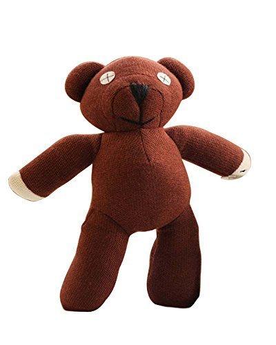 amazon com yancos mr bean teddy bear plush figure doll toy brown