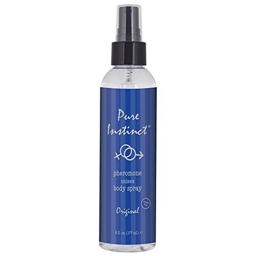 Pure Instinct, Pheromone Unisex Body Spray, Original, 6 Fl. Oz., Spray Bottle