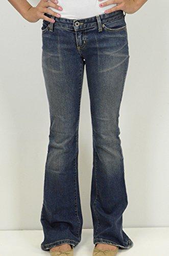 Chip & Pepper Women's Road Jar Low Rise Jeans, Medium Wash, 25 x 32