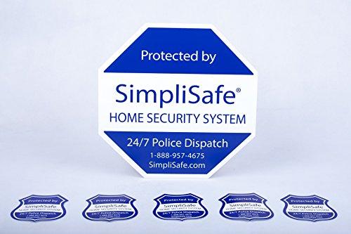 Simplisafe Home Security System Sign Combo Set Yard Sign