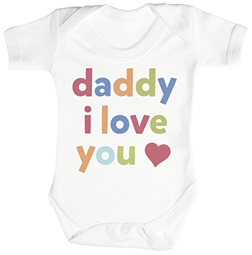 Daddy, I Love You Baby Bodysuit / Babygrow 12-18M (Baby Clothes Catalog)