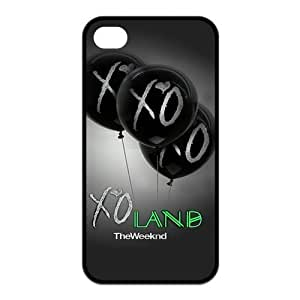 Danny Store 2015 New Arrival Protective Rubber Cover Case for iPhone 4,iPhone 4s Cases - The Weeknd XO