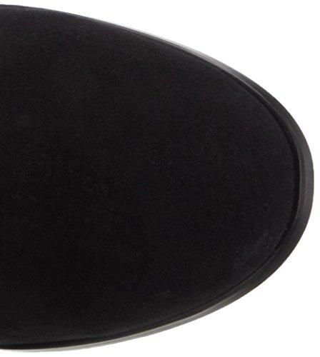 Giudecca 23 - Botas de cuero para mujer negro - negro