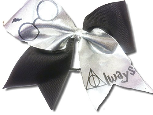 Cheer bows Always Harry Potter spandex Hair Bow -