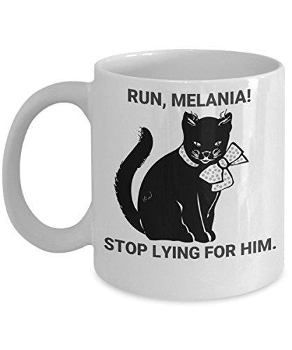 Melania Trump Gag Gift, Run Melania. Free Melania Melania Trump Gag Gifts, Free Melania Mug Gift, Funny Anti Trump Mug, Political Humor for Office Friend Mother Sister Wife