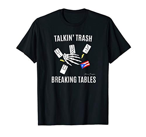 (DOMINOES Shirt | Puerto Rico Flag T-Shirt)