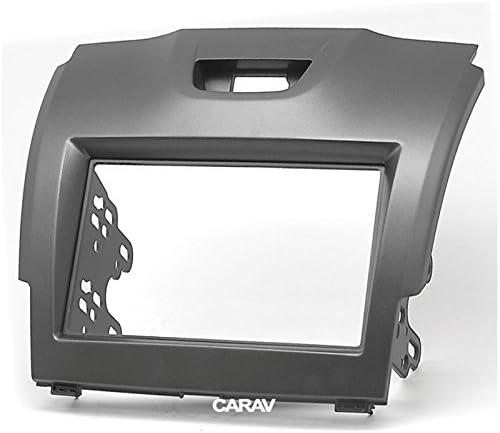 carav 11 292 double din car dash installation kit radio stereo face facia fascia panel frame dvd dash stereo install kit for chevrolet trailblazer