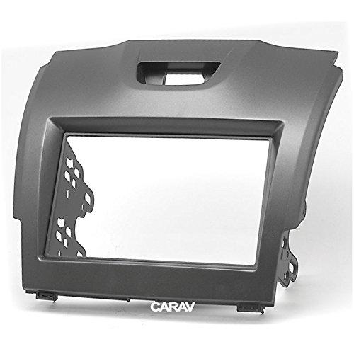 S-10/2012 2016//Isuzu D-Max 2012/+; Mu-x 2013/+//Holden Colorado 2012 Carav 11 Pocket 292/2-DIN XGadget Fa/çade dautoradio fa/çade Dash kit dinstallation pour Chevrolet Trailblazer 2016/