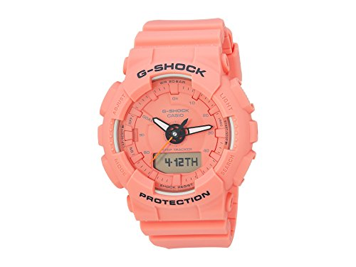 G-Shock Women's GMAS130VC-4A Orange One Size