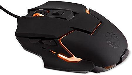 Krom NXKROMKHND - Raton óptico Gaming, Color Negro