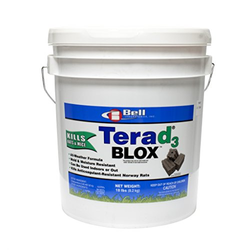 Bell Labs New Terad3 Rodenticide 18lb