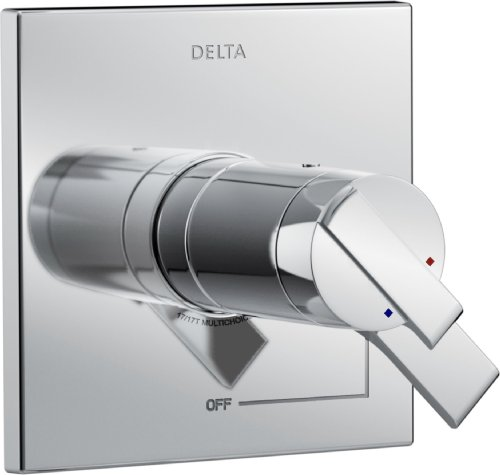 Delta Faucet Delta T17T067 Ara TempAssure 17T Series Valve Only Trim, Chrome