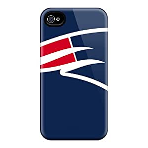 DBBJY9067eBZuc Anti-scratch Case Cover ArtCart Protective New England Patriots Case For Iphone 4/4s
