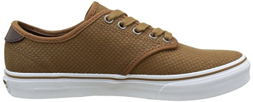 Vans Camden DX, Sneakers Basses Femme Marron (Exotic Emboss)