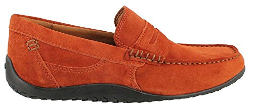 Men's Clarks, Plateau Terrace Slip-on casual Shoe RUST 7 M