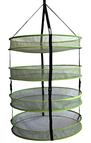 "Aether HarvestDRY 24"" 4-Tier Detachable Advanced Hydroponi"