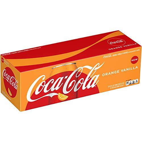 - Coca-Cola Coke Orange Vanilla Soda, 12 fl oz, 12 pack