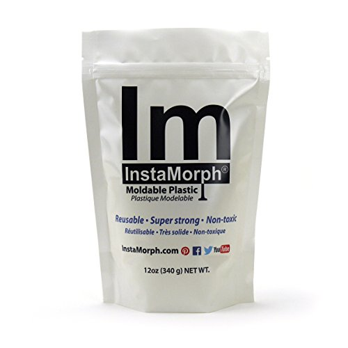 InstaMorph - Moldable Plastic - 12oz (Art And Hobby Halloween Costumes)