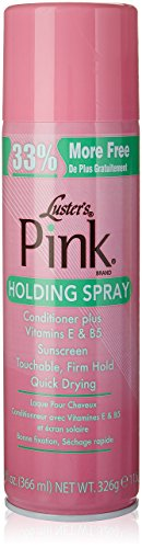 - Luster's Pink Holding Spray, 11.5 Ounce