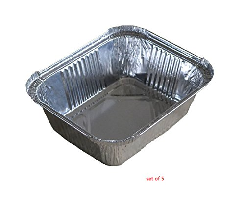 Watson Lee 6-Inch-by-5-inch-by-2-inch Replacement Grease Trays for Napoleon Grills to Keeping Grill Clean , Pack of 5