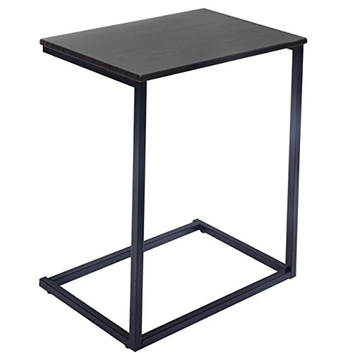 Elegant Modern Style Laptop Holder End Stand Desk Table Notebook Beside Sofa Home Bedroom Office Furniture - Shopping Houston At