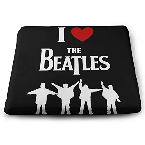 FZDB I Love The Beatles Pillow Indoor/Outdoor Carmody Squared Seat