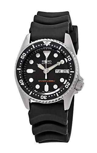 (Seiko Black Automatic Dive Watch SKX013K1)