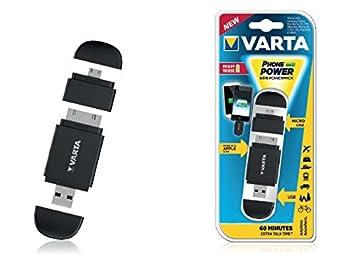 Varta Mini Powerpack Auto, Interior, Exterior Negro: Amazon ...