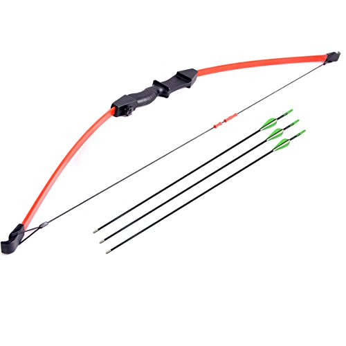 FlyArchery Youth Bow and Arrow Set Recurve Bow Outdoor Sport