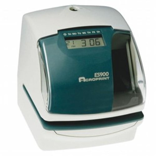 ACRO ES900 MULTIFUNCTION, ATOMIC TIME RECORD/STAMP ES900 by ACROPRINT ()