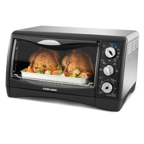 Amazon Deal of the Day: Save 50% on BLACK+DECKER 6 Slice Convection Oven, Silver
