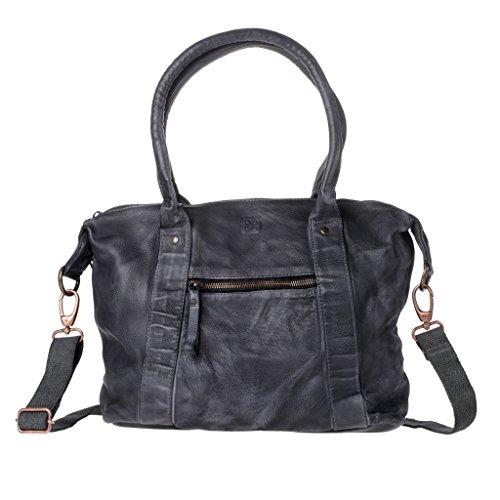 Leather For Black Compact Dudu Black Woman Bag Shoulder PfqAxwS8