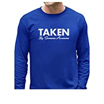 Taken by Someone Awesome Long Sleeve T-Shirt X-Large Red