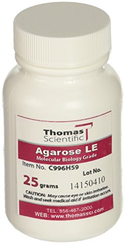 Benchmark Scientific A1700 Organic Solvent Free Agarose LE, 25g Capacity ()