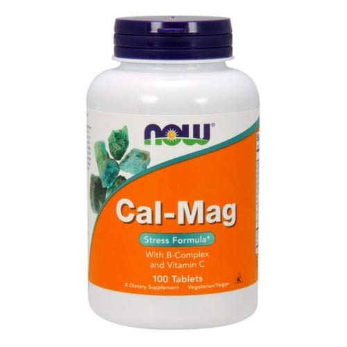 - Cal-Mag Stress Formula, 100 Tabs by Now Foods (Pack of 3)