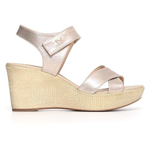 Zapatos Nut Giardini Mujer Nero Con Correa qw64OC