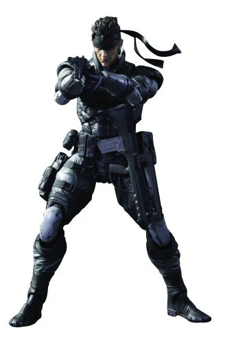 Square Enix Metal Gear Solid: Play Arts Kai: Solid Snake Action Figure (Solid Snake Square Enix)