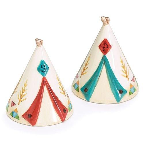 (Burton & Burton Salt/Pepper Tent Shape Pair)
