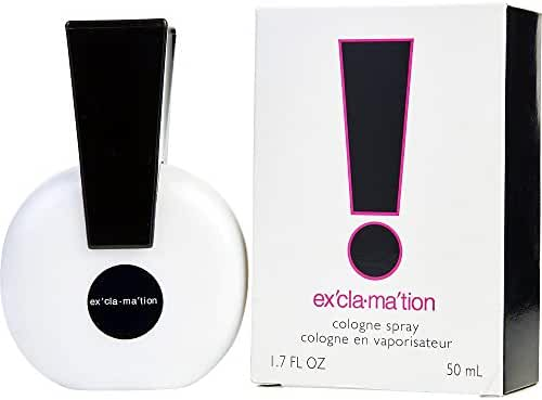 EXCLAMATION by Coty COLOGNE SPRAY 1.7 OZ (Package Of 2)