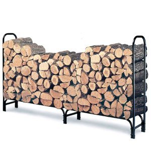 Landmann 82433 8-Foot Firewood Log Rack Only (For Wood Outdoors)