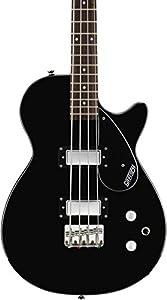 gretsch g2220 junior jet electric bass guitar ii black musical instruments. Black Bedroom Furniture Sets. Home Design Ideas