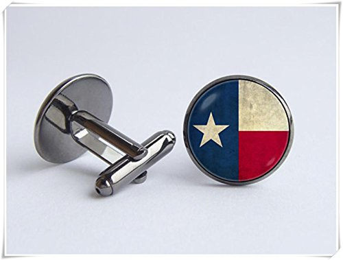 Texas state flag Cufflinks Flag cuff links Texas flag jewelry