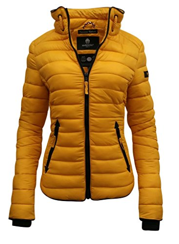 Marikoo - Chaqueta - chaqueta guateada - para mujer amarillo
