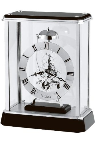 Ebony Tabletop Clock - 2