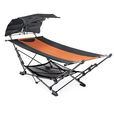 ZENITHEN LIMITED OC582SC-TV01 Four Seasons Courtyard Hammock with Removable Canopy
