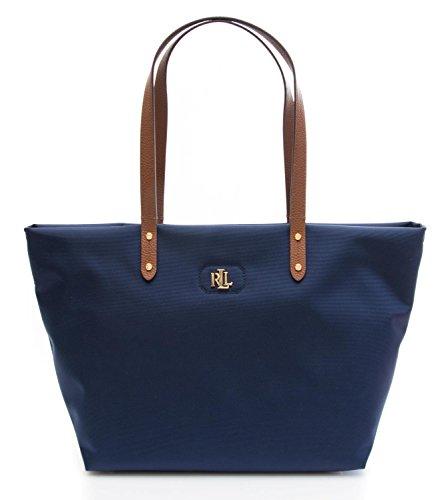Bleu main bleu Size femme pour à Sac Ralph Lauren One 0YwxqHxf