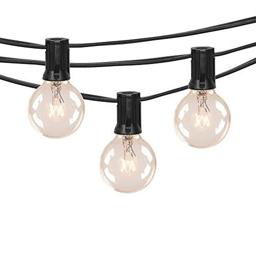 Cheap  50Ft G40 Globe String Lights with Clear Bulbs for Indoor/Outdoor Commercial Decor,Outdoor..