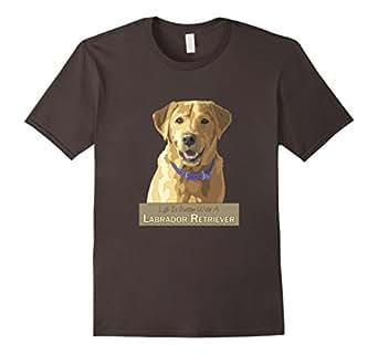 Men's Life Is Better With A Yellow Labrador Retriever 3XL Asphalt