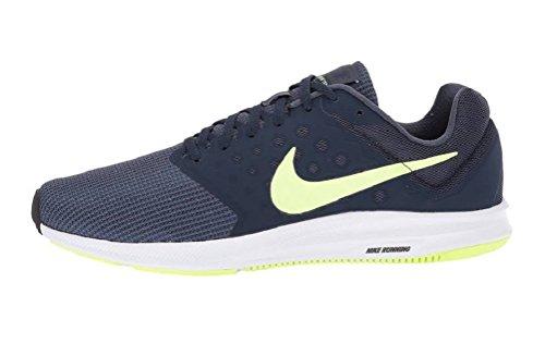 Nike Mens Downshifter 7 Scarpa Da Corsa Tuono Blu / Volt Bagliore
